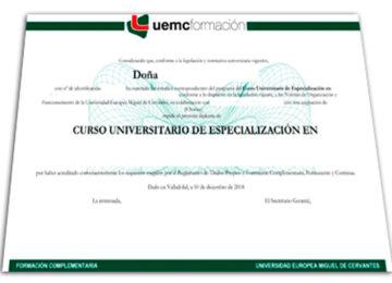 Titulo-Diploma UEMC-Aulaformacion